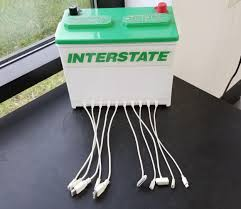 Meme Store - put me like this charging station at the tire store waiting area