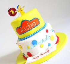 caillou cake birthday cake specialty cakes fondant cakes