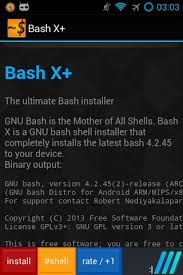 android apk shell installer bash shell x pro root 50 apk version x apk plus