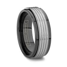 black mens wedding ring jewelry rings black wedding bands unique trend choice formidable