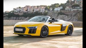 Audi R8 Specs - review car 2017 audi r8 spyder specs price and rating youtube