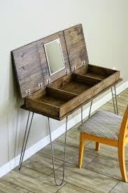Homemade Makeup Vanity Ideas Rustic Makeup Vanity Table Home Vanity Decoration