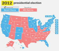 Romney Obama Map How Has Your State Voted In The Past 15 Elections Vox