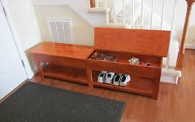 Storage Hallway Bench by Bench Bench With Storage Wonderful Narrow Hallway Bench Image Of