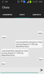 building your own android chat messenger app similar to whatsapp