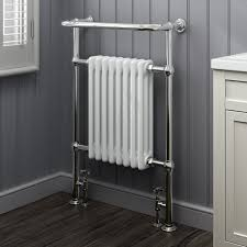 Designer Kitchen Radiators Ibathuk 4 Column Traditional Designer Heated Towel Rail Bathroom