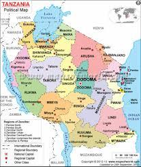 biomes map major biomes map of tanzania tanzania east africa the