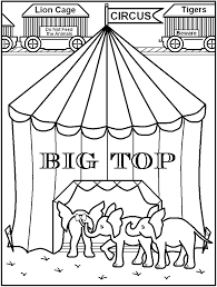 circus coloring pages 533528