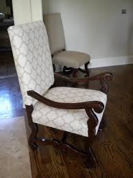 How To Upholster A Dining Chair Back Fabulous How To Reupholster Chairs From Reupholstering Vintage