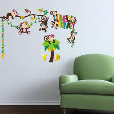 Monkey Nursery Decals Compare Prices On Zooyoo Monkey Online Shopping Buy Low Price