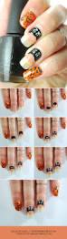 black cat nail art tutorial wonder forest