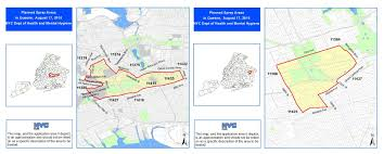 Grand Central Map Pesticide Spraying Across Many Queens Neighborhoods Set For Monday