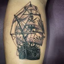 25 unique pirate ship tattoos ideas on pinterest pirate ship