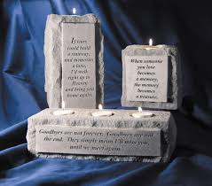 personalized remembrance gifts memorial candle holders sympathy solutions