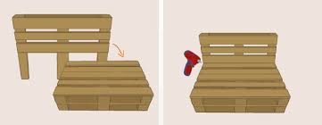 canap en palette fabriquer un canapé en palette canapé