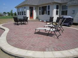 Block Patio Designs Pavers Ideas Patio