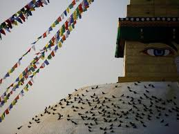 boudhanath stupa the historic site restored to its former