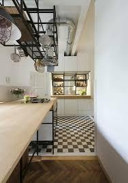 carrelage noir et blanc cuisine carrelage blanc cuisine le carrelage damier noir et blanc en photos