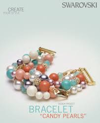swarovski style bracelet images Swarovski crystal pearl candy bracelet free design and instructions png
