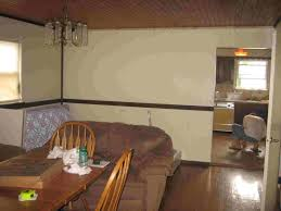what color to paint with dark chair rails hardwood fireplace