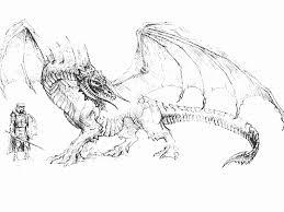 coloriage dragon les beaux dessins de animaux à imprimer et