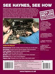 mercedes benz a class petrol u0026 diesel 98 04 haynes repair