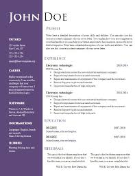 blank resume layout chronological resume for canada cv templates microsoft word free