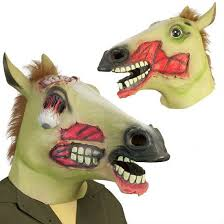 Horse Head Mask Meme - zombie horse head mask shut up and spend