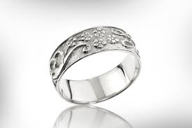 sterling silver wedding gifts sterling silver band wedding ring weddings band engraved