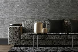 wandgestaltung stoff wohnzimmer wandgestaltung tapeten mit edlen texturen