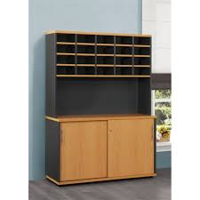 Lockable Desk Furniture Create A Home Office In A Small Space With Credenza
