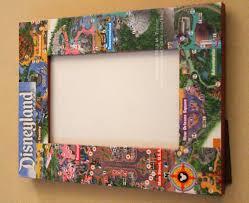 Disney Park Maps Disneyland Map Frame And Souvenir Box Wdwmagic Unofficial Walt