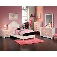 Value City Furniture Bedroom Sets For Kids Valerie Queen Bed Pink Value City Furniture With Sleigh