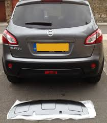 nissan qashqai tailgate handle front u0026 back skid plate nissan qashqai owner club page 1