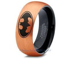 Batman Wedding Ring by Batman Tungsten Wedding Band Ring Mens Womens Brushed Dome Cut