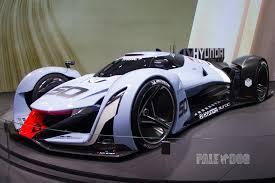 hyundai supercar 2015 hyundai n 2025 vision gran turismo concept front view