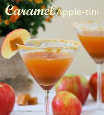 salted caramel martini recipe caramel apple tini