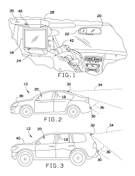 patent us20130229519 automatic rear view display in vehicles