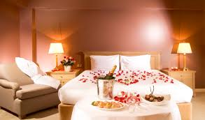 romantic bedroom enjoy the love hort decor