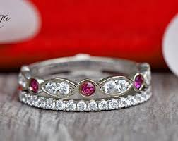 ruby band ruby band etsy