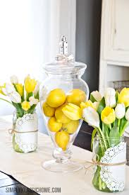 Spring Decor Simply Klassic Home How To Create An Easy Spring Centerpiece On