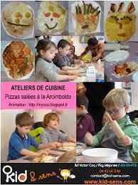 cours de cuisine pour enfant pizzas à la arcimboldo activités éveil bébés et enfants aix en