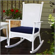 White Rocking Chair Cushion Patio Chair Cushions Target Belmont Outdoor Brown Wicker Seat