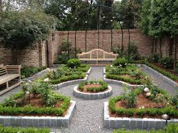 Garden Brick Wall Design Ideas How To Achieve And Exciting Garden Decorating Ideas Without