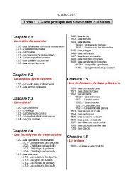 fiche technique cuisine pdf cap de cuisine tome 1 et 2 pdf archive