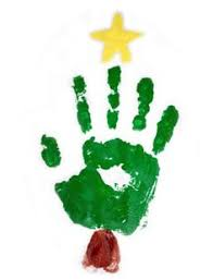 tree with handprints search holidays