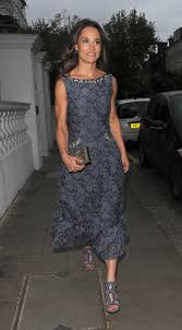 middleton leaving her home and heading to the para snow ball held