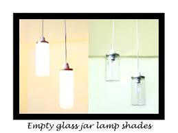 Glass Jar Pendant Light Diy Glass Jar Pendant Lights Trumatter