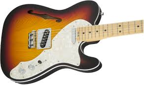 fender american elite telecaster thinline maple fingerboard 3