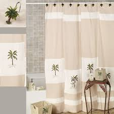 Deny Shower Curtains Fiji Ii Palm Tree Tropical Shower Curtain By Croscill